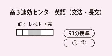 高3速効センター英語(文法・長文)