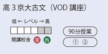高3京大古文(VOD講座)
